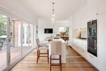 Hamptons Kitchen with Gaggenau Appliances   HB Design
