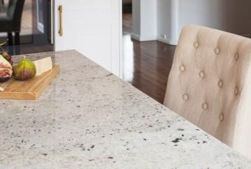 River White Granite Benchtop   HB Design