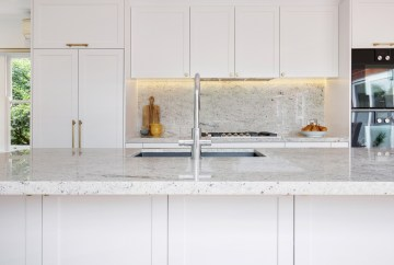 White Kitchen | HB Design