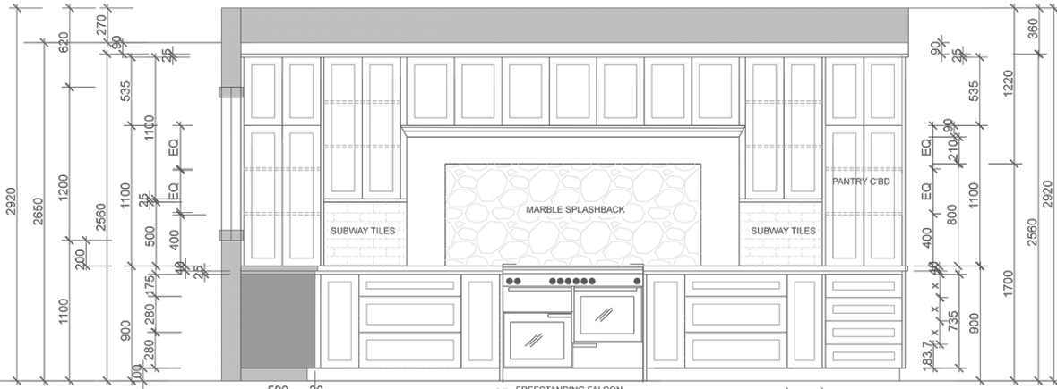 Kitchen Renovation Drawings