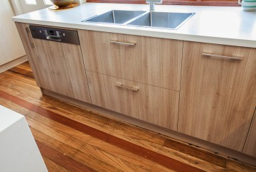 Timber Grain Cabinetry | Helen Baumann Design