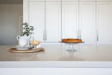 Marble Inspired Bench Top | Helen Baumann Design