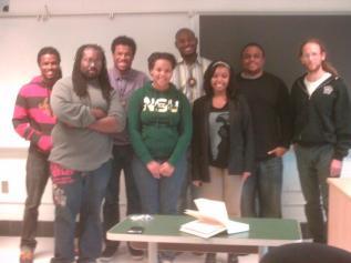 The NSU Poetry Slam Team
