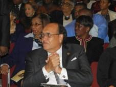 VUU President Claude Perkins