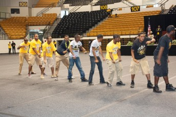 Alpha Phi Alpha brothers at Grambling
