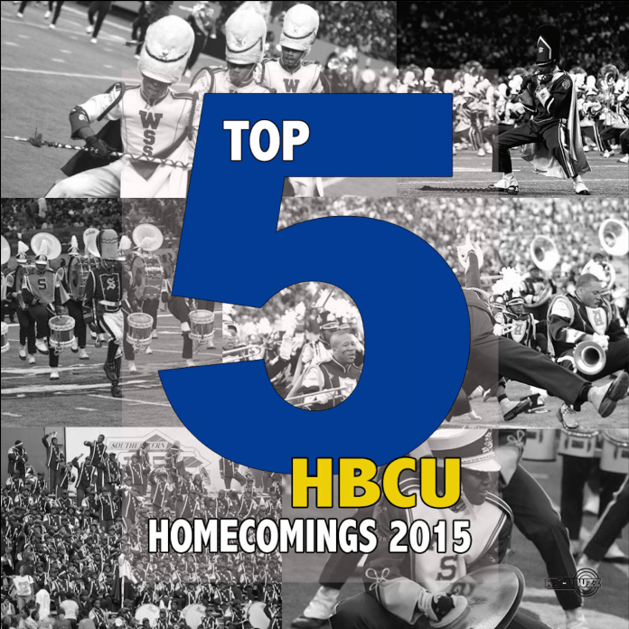 Top 5 HBCU Homecomings 2015
