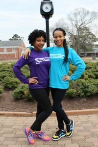 Left to right: President Nadieya Barco, Vice President Desiree Everette