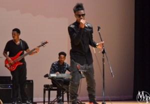 Liek$tar performing at Delaware State University's talent show, DSU Got Talent.