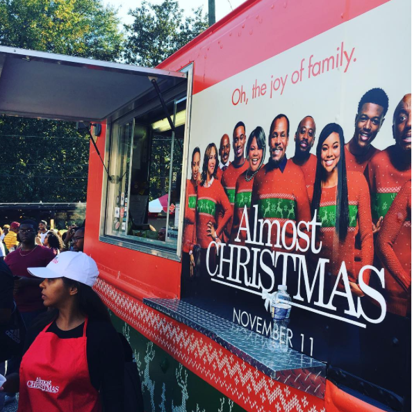 Christmas Homecoming Cast.The Cast Of Almost Christmas Attend Spelhouse Homecoming