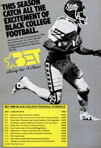 1990 BET Black College Football