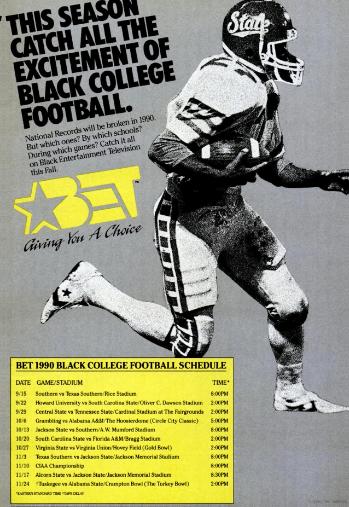 1990 BET Black College Football