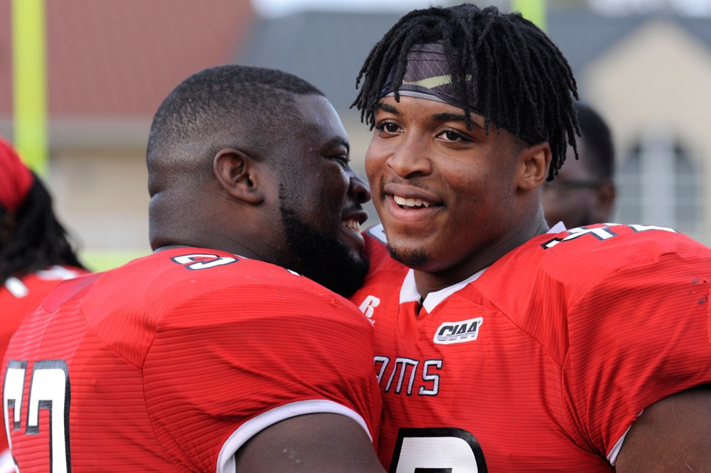 WSSU wins over Shaw in CIAA South.