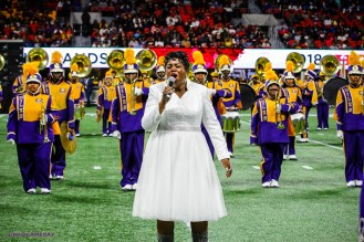 Miles College performs at 2018 Honda Battle of the Bands