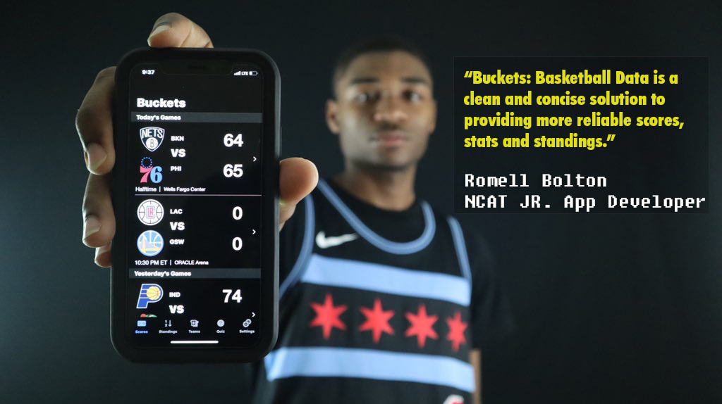NCAT junior jumps into the game with new Apple Store basketball app