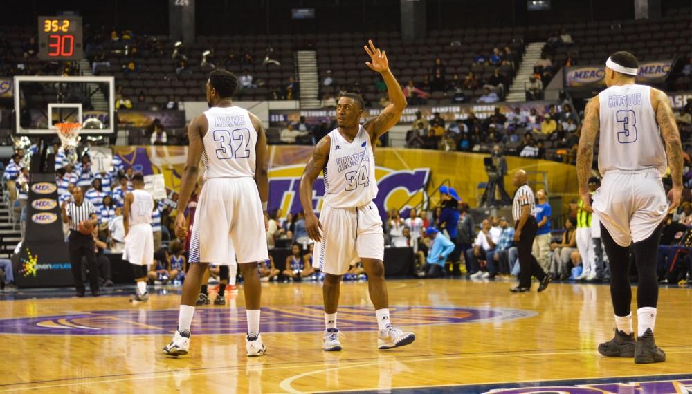 MEAC Basketball Hampton