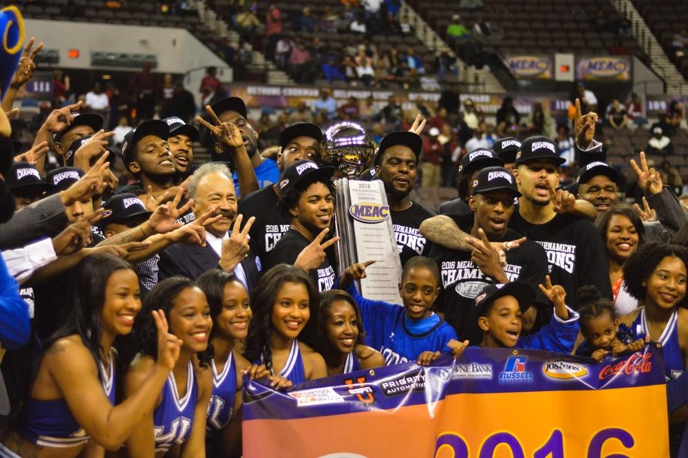 MEAC Basketball Hampton 2016