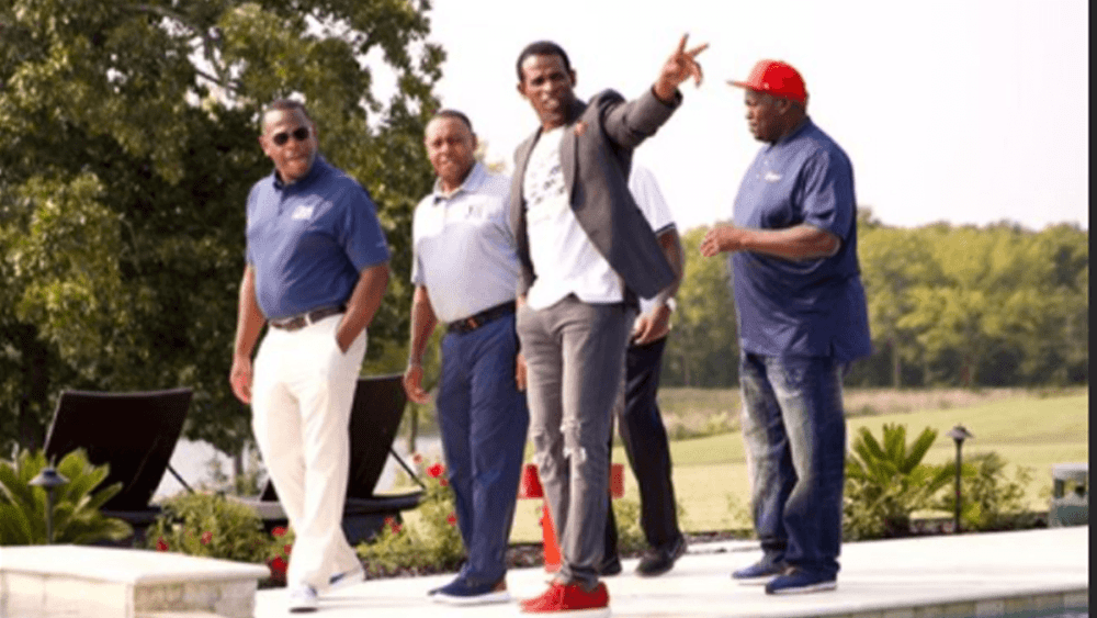 Deion Sanders walking with Jackson State administrators