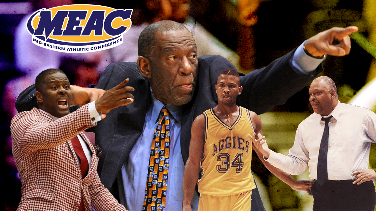Greatest men's basketball coach in MEAC history