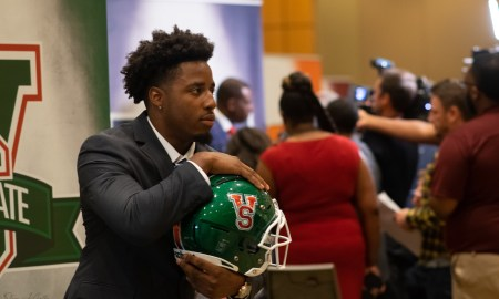 SWAC Media Day Mississippi Valley RB