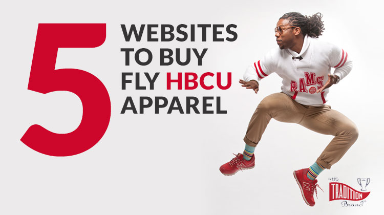 HBCU Alumni Apparel Websites: A stylish HBCU grad leaps in a Winston-Salem State University