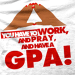 BUBB Greek Gifts: Work, Pray and have a GPA (Delta Sigma Theta)