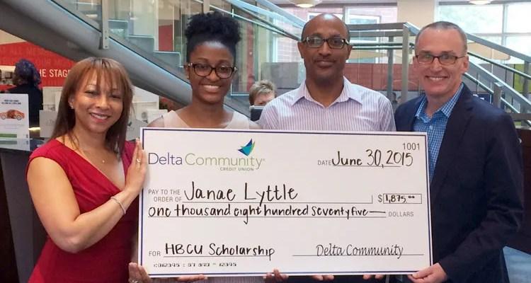 Delta Community Awards Second Quarter HBCU Scholarship