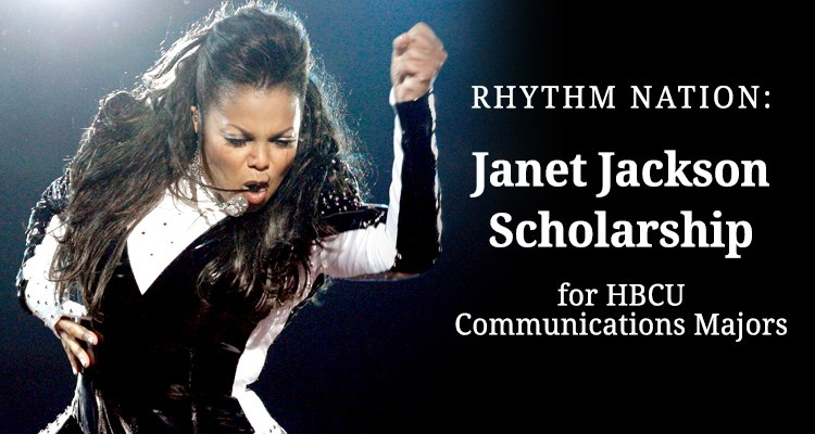 Janet Jackson Scholarship: Up to $5,000 for Communications Majors