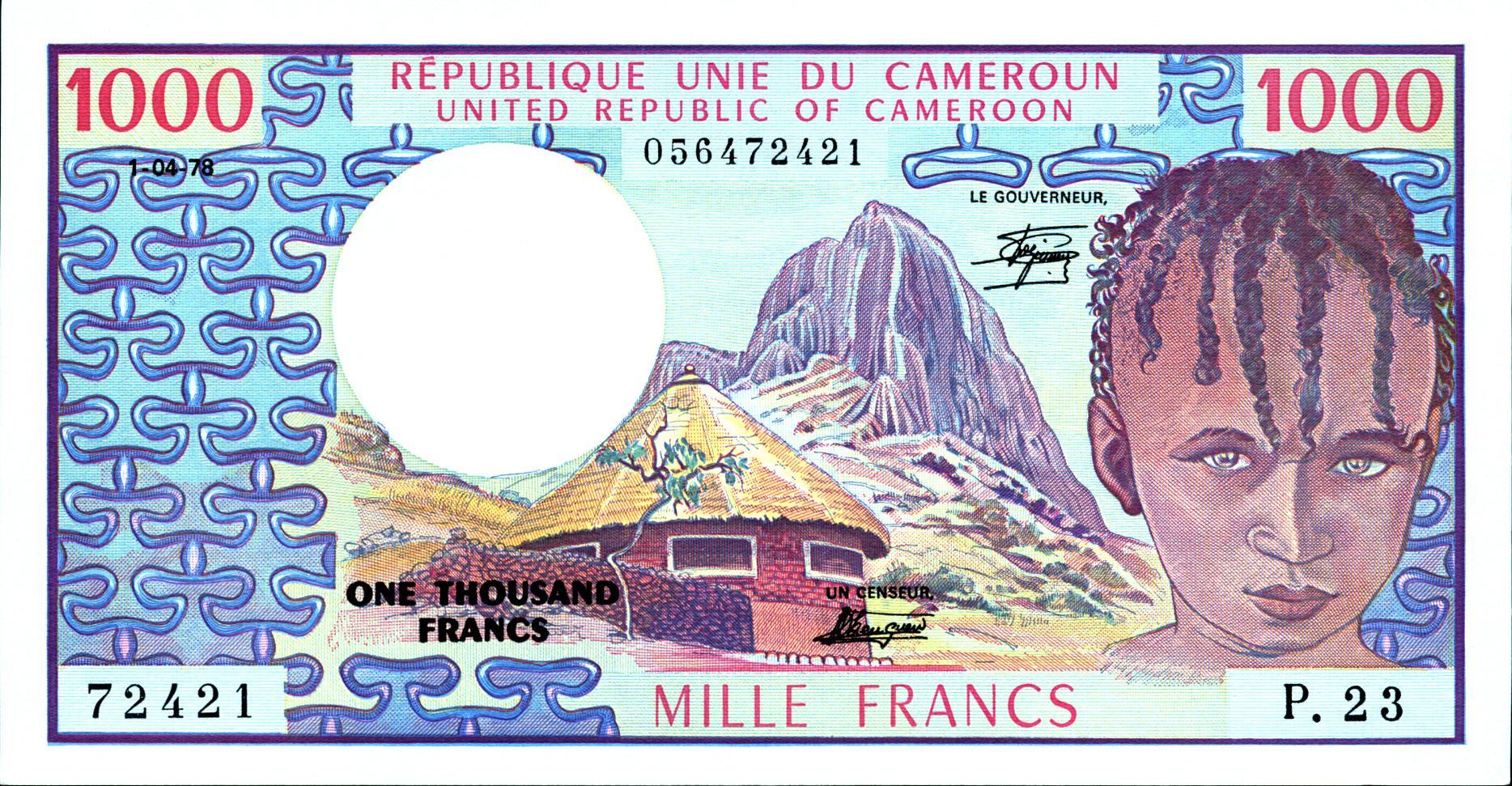 Currencies Of The African Diaspora  Cameroon  HBCU Money