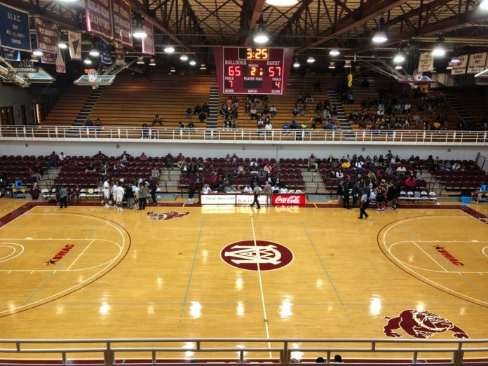 Alabama A&M basketball court