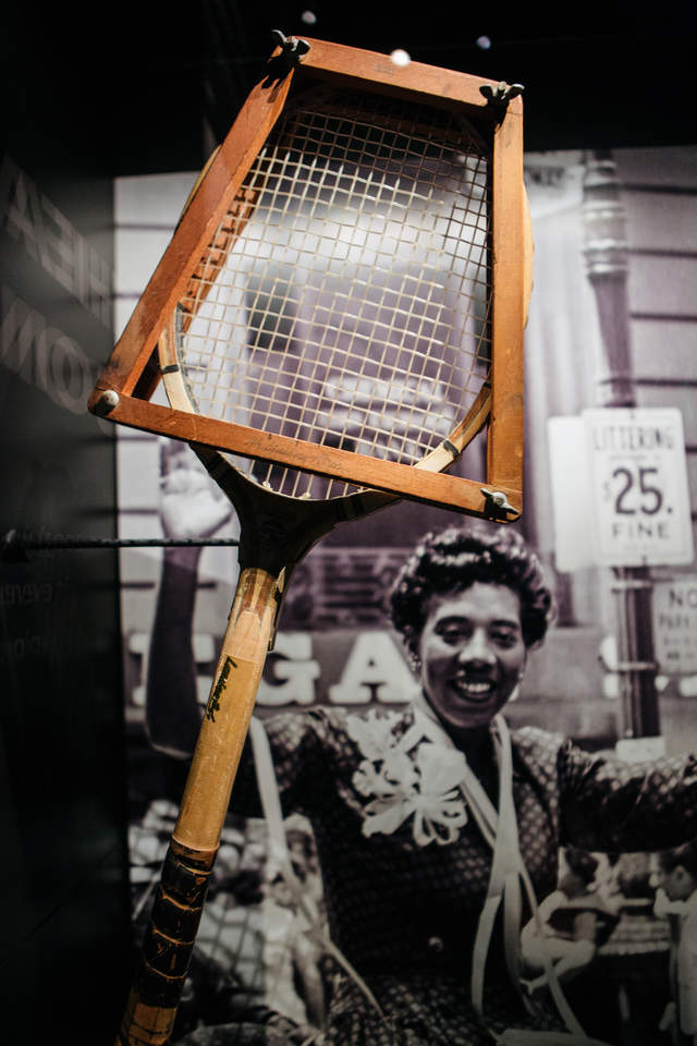 Althea Gibson Racket
