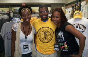 HBCU Voyager with Oakwood University students at the OU bookstore