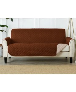 Sofa Coat Cover Brown