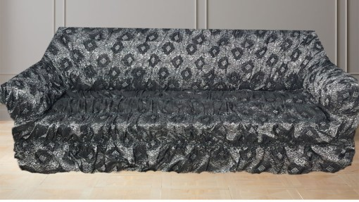 buy sofa covers online in pakistan Grey Silver