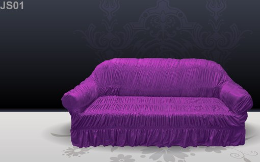 buy sofa covers online in pakistan Silk Purple