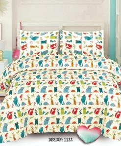 Cotton Bed Sheet High Quality Print 22