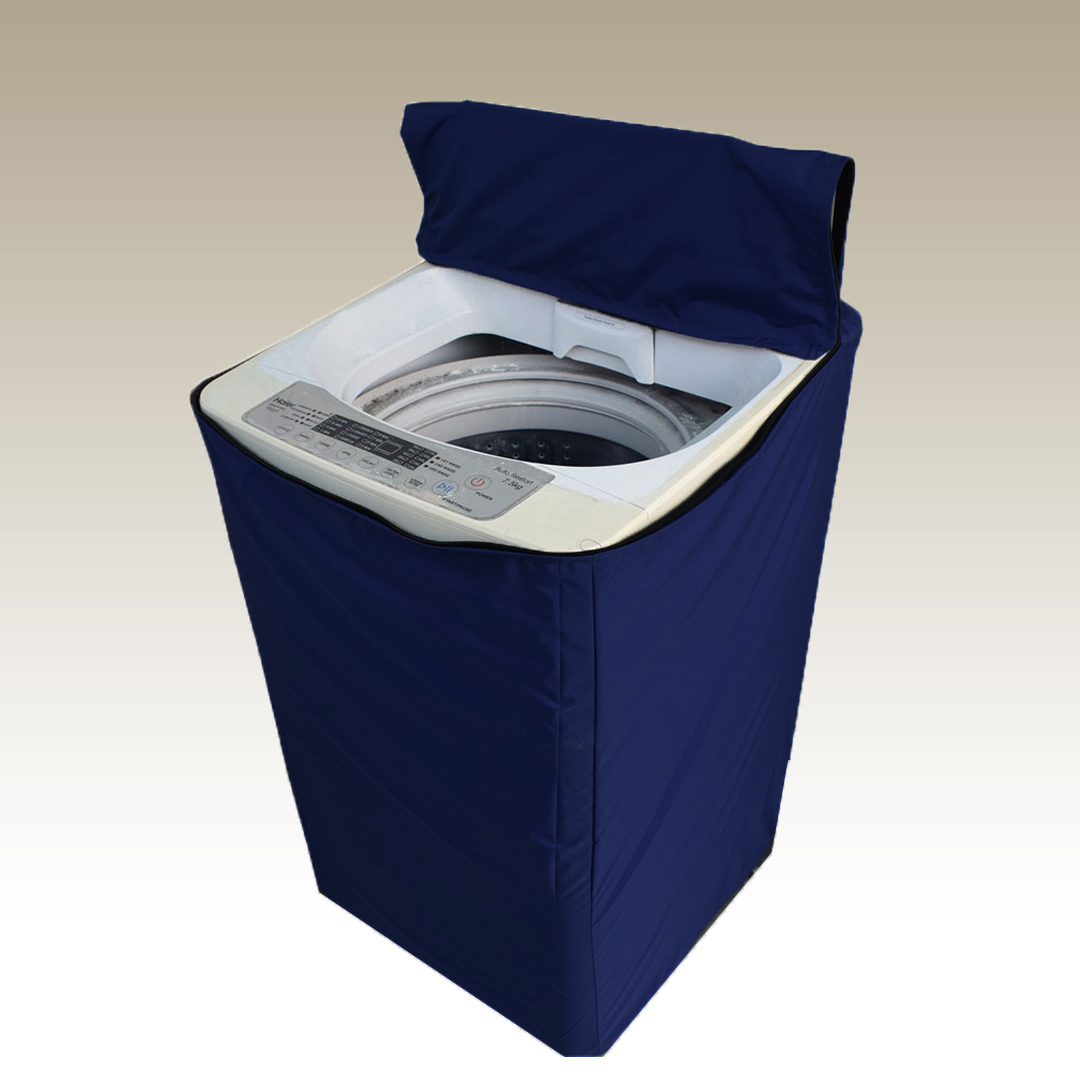 navy blue washing machine cover