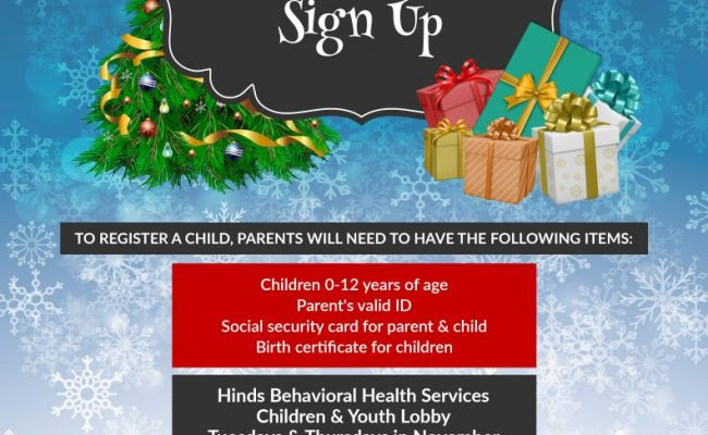 Toys For Tots Sign Up Hinds Behavioral Health Services