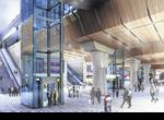 An artist's impression of the new-look London Bridge Station