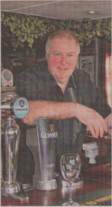 Pub boss Johnny Alderson has high hopes for village pubs