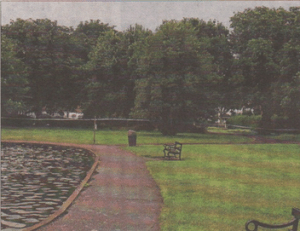 The young mum waS walking In Herne Bay's Memorial Park