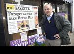 North Thanet Ukip candidate Piers Wauchope
