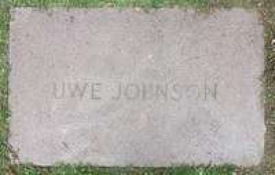 Uwe Johnson's gravestone in Sheerness