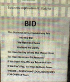 MESSAGE: The anti-BID poster