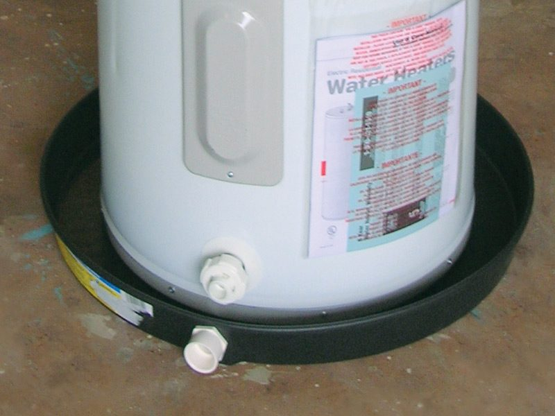 Water Heater Tray Facias