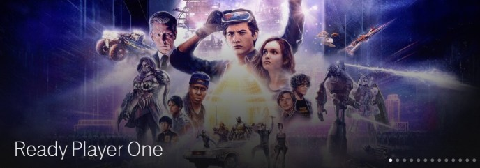 Ready Player One on HBO Now