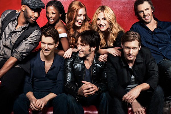 Cast of HBO's hit vampire show, True Blood