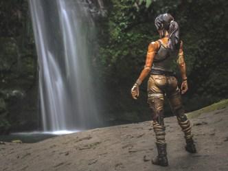 Lara finds the falls - Noel O'Riley