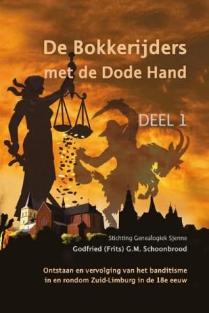 Cover boek Bokkerijders met de dode hand