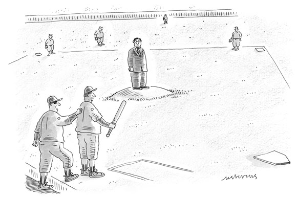 Strategic Humor: Cartoons from the October 2013 Issue