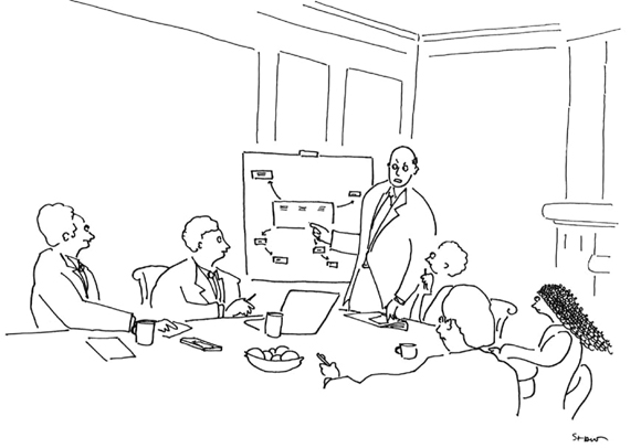 Strategic Humor: Cartoons from the May 2014 Issue